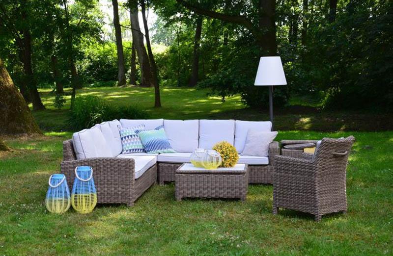 Komplet mebli ogrodowych - wymarzony ogród meble i dekoracje ogrodowe