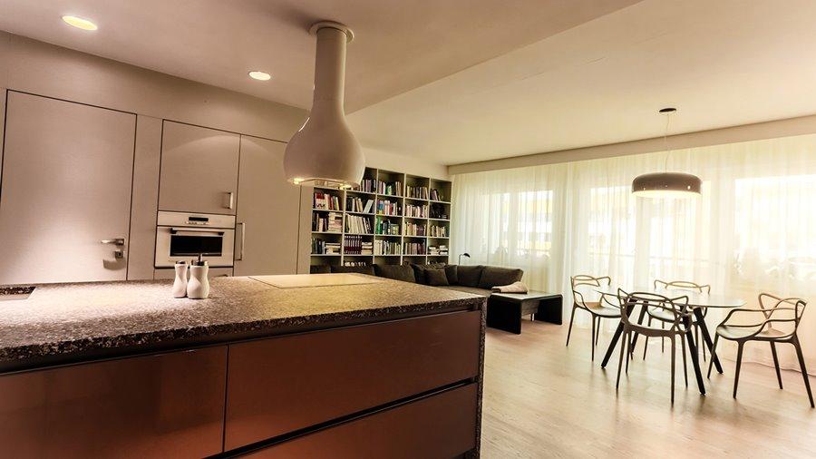 Kuchnia i jadalnia połączona z salonem  Architektura   -> Inspiracje Kuchnia Z Salonem