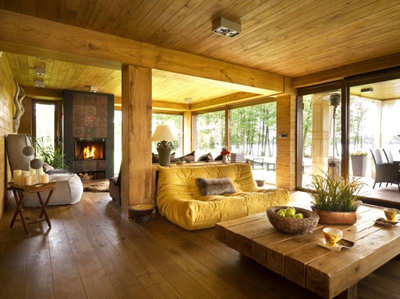 Идеи для загородного деревянного дома фото