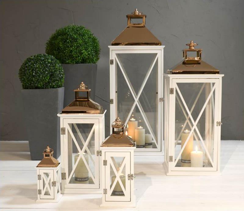 Stylowe lampiony na taras i do ogrodu - wymarzony ogród meble i dekoracje ogrodowe
