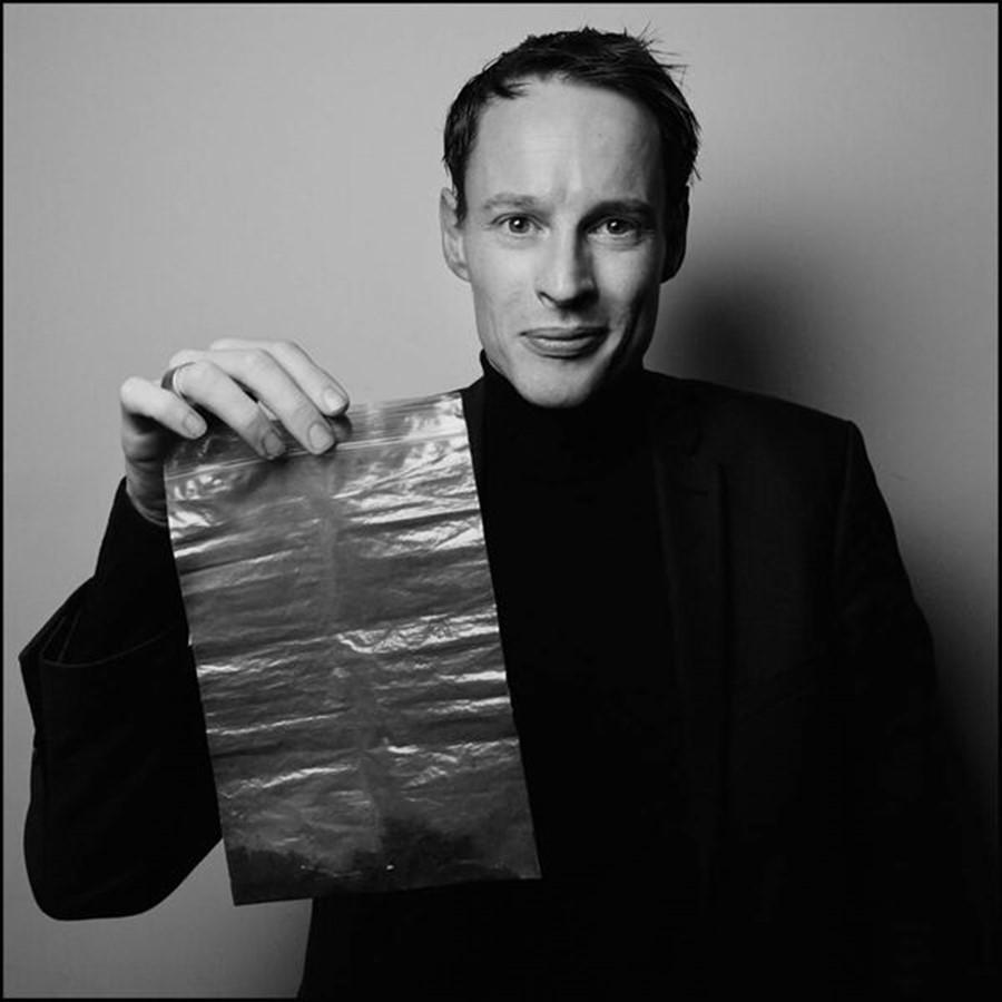 pozostałości smogu w plastikowej torebce, Daan Roosegaarde