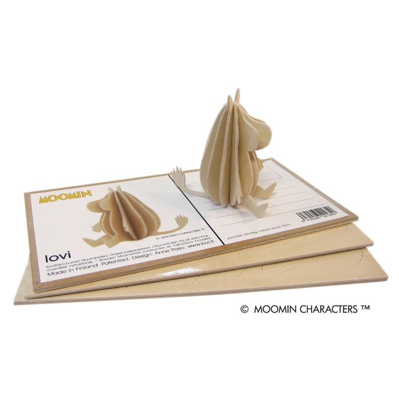 Figurka do składania Muminek 9cm Lovi Muminki pocztówka