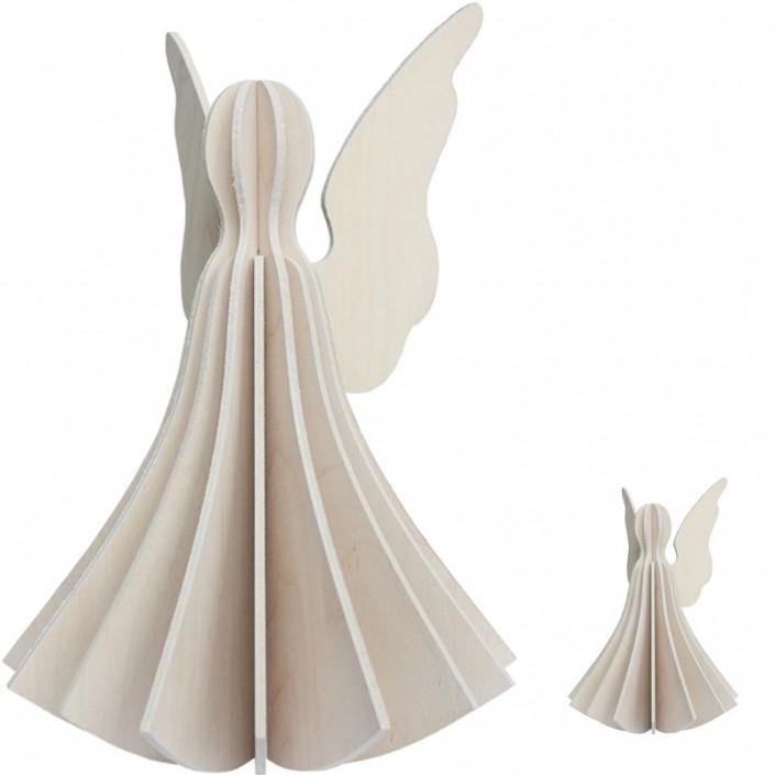 Pocztówka do składania Angel 27cm Lovi dekoracje anioł