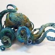 Surrealistyczne rzeźby zwierząt Ellen Jewett piękne rzeźby