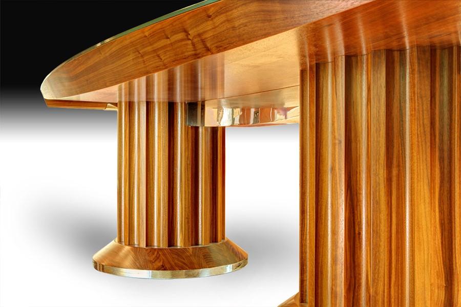 oryginalny stół, inwestor indywidualny. Wyprodukowany przez: Manufaktura Wirchomski
