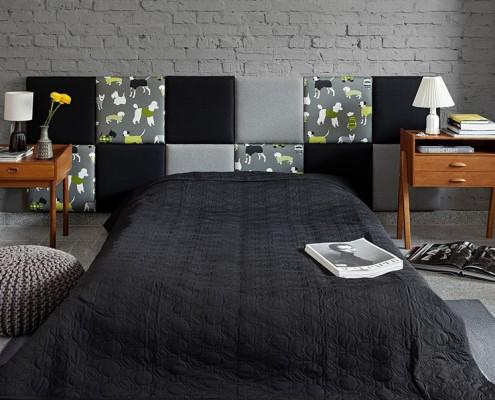 Oryginalne wezgłowie łóżka Made for Bed