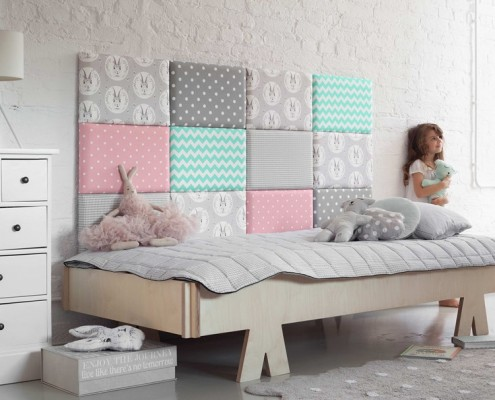Pastelowy pokój dziecięcy Made for Bed