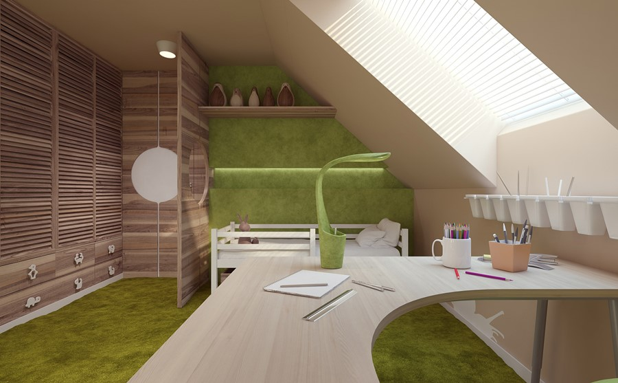 pok j dla ch opca i dziewczynki inspiracja homesquare. Black Bedroom Furniture Sets. Home Design Ideas
