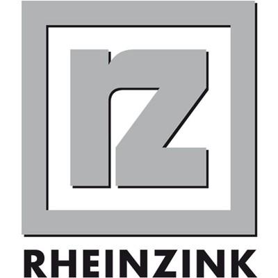 Rheinzink logo producent blach elewcji zewnętrznej