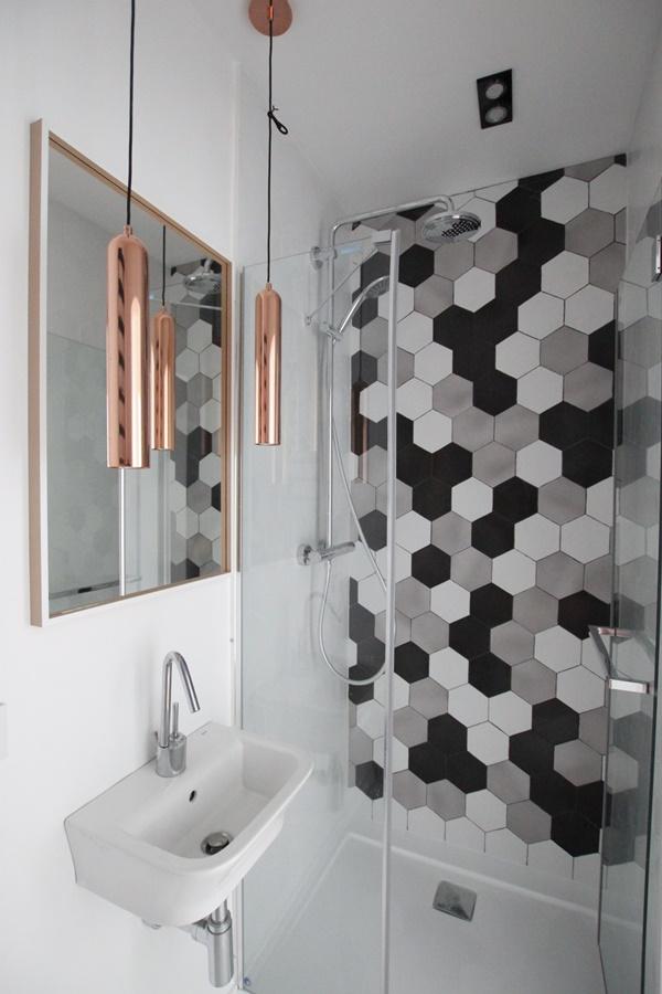 Wystrój małej łazienki w bieli Be My Design