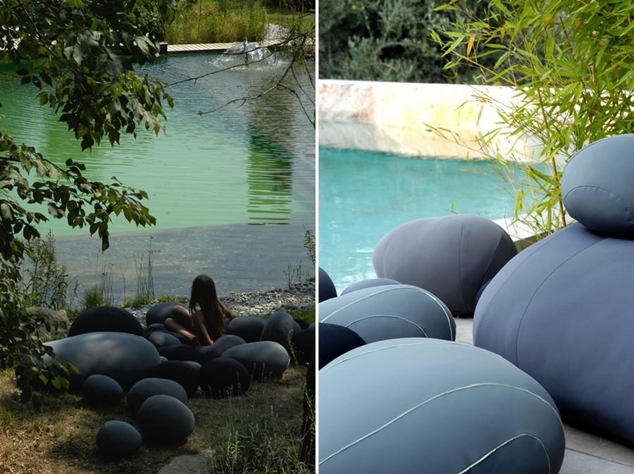 Nowa linia Żywych Kamieni - siedziska ogrodowe