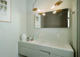 Aranżacja jasnej łazienki Poco design