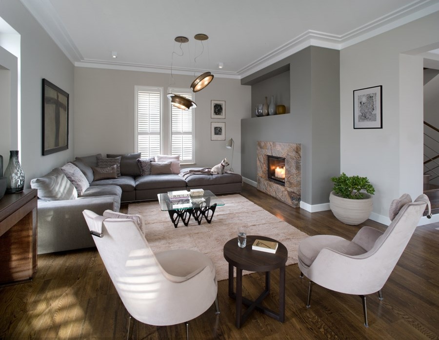 Aranżacja nowoczesnego salonu eleganckie wnętrza