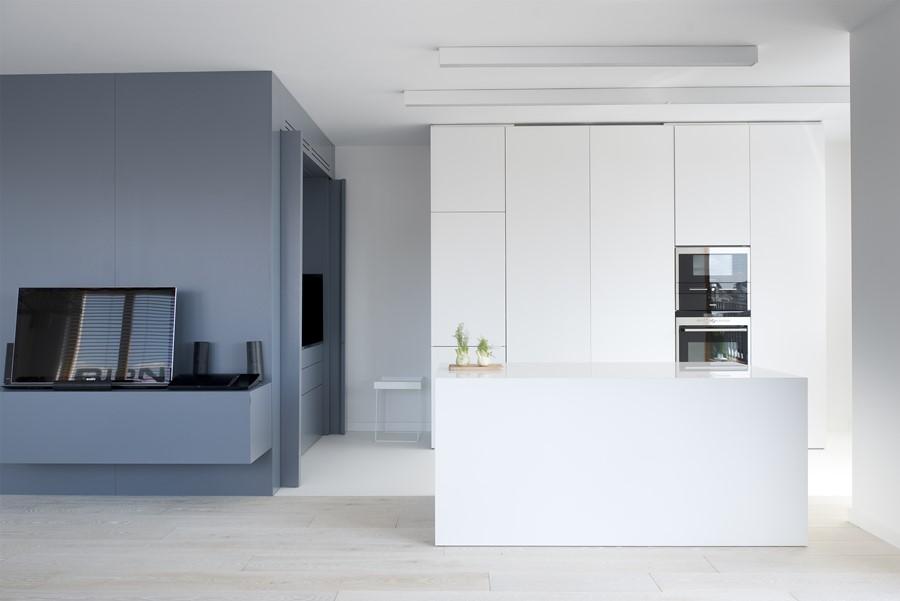 Biała kuchnia  design i ponadczasowa elegancja   -> Kuchnia Biala Otwarta Na Salon