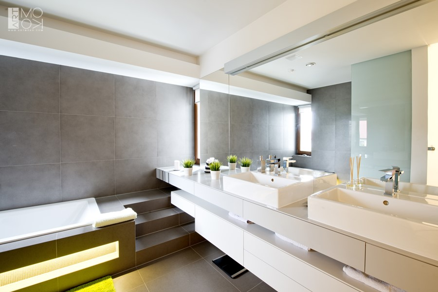 Szara łazienka - jak ją zaplanować, żeby nie była nudna ...
