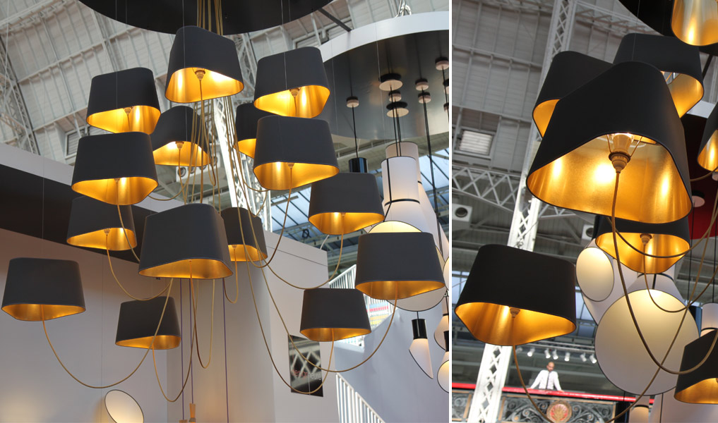 Designerski żyrandol 100% design London