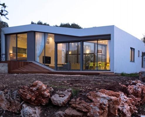 dom w kibucu Yehiam, Izrael