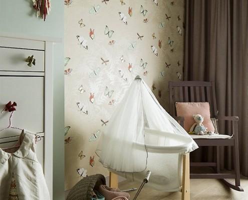 Eklektyczny pokój dla niemowlaka Poco Design