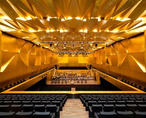 sala symfoniczna filharmonii w Szczecinie
