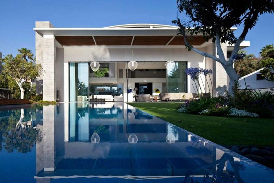 nowoczesna willa z basenem. Izrael