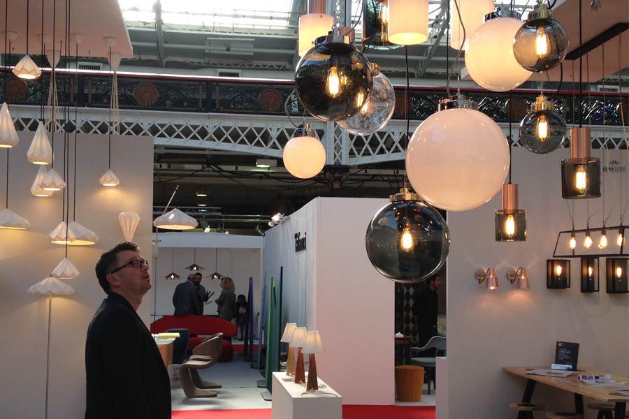 Lampy 100 Design London fotorelacja