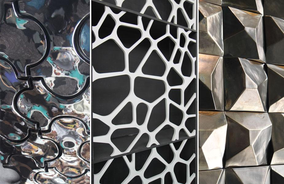 Nowoczesne panele ścienne targi 100% design