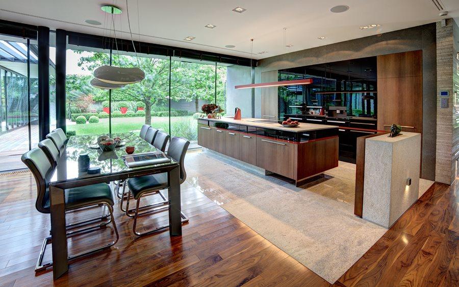 Otwarta kuchnia  sprawdź, jak powiększyć przestrzeń w   -> Kuchnia Otwarta Z Oknem