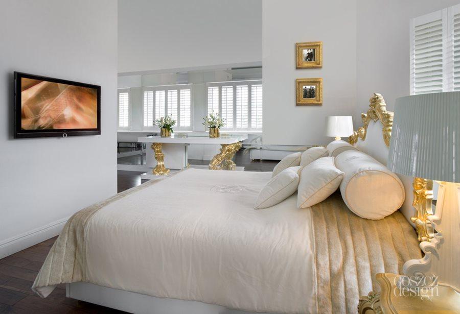 Otwarta sypialnia pomysły na wystrój