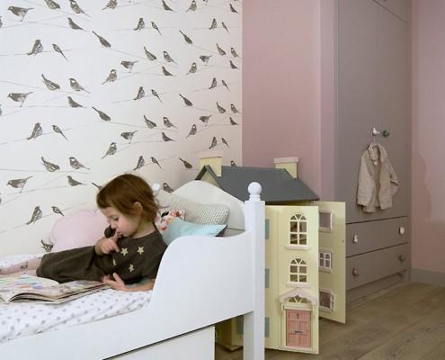 Pastelowy róż w pokoju dziecięcym Poco Design