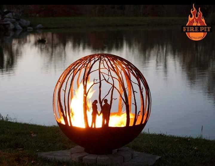 Piękne paleniska ogrodowe - The Fire Pit Galler