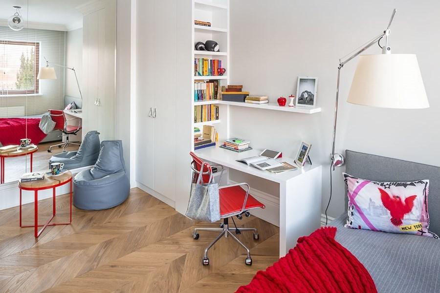 Pokój dla nastolatki Pepe pracownia