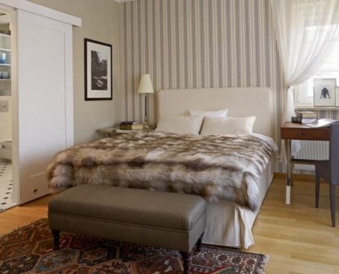 Stylowa sypialnia z łazienką BBhome