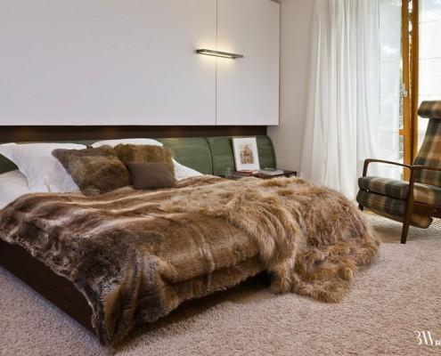 Sypialnia w stylu retro Bartek Włodarczyk