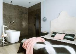 Sypialnia z kącikiem kąpielowym Poco Design