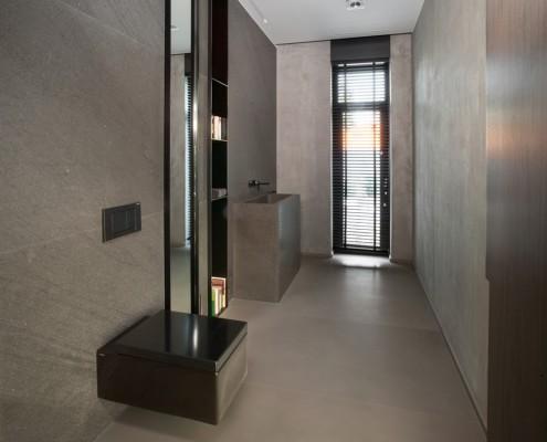 Toaleta w industrialnym stylu EXITDESIGN