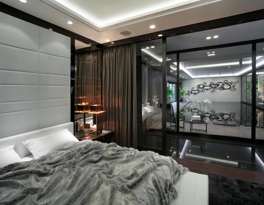 Wystrój nowoczesnej sypialni - pomysł na sypialnię