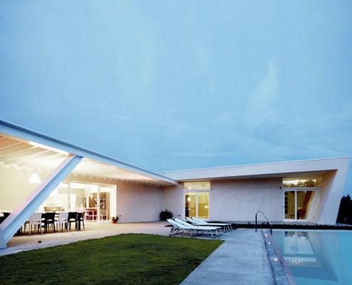 nowoczesny dom z basenem, okolice Wenecji.