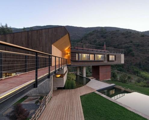 nowoczesny dom w drewnie