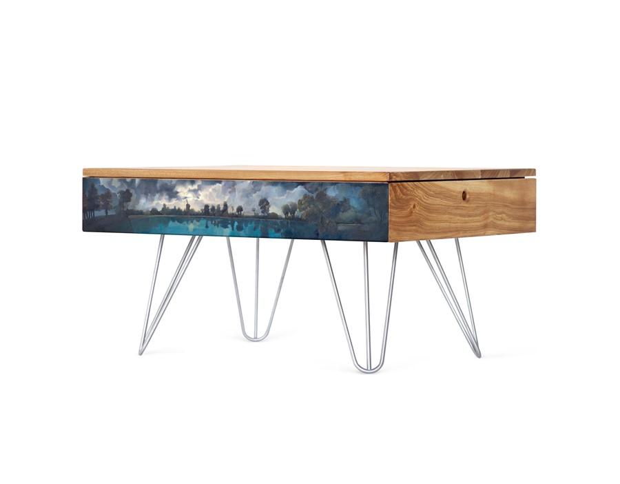 meble z pogranicza sztuki użytkowej i pięknej
