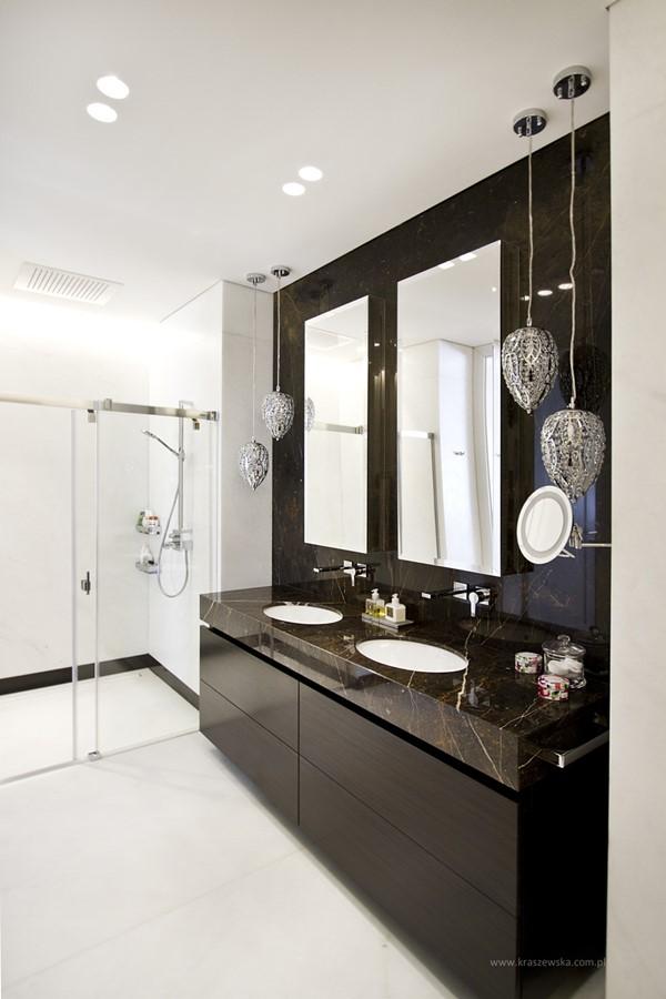 Łazienka nowoczesna w romantycznym wydaniu - Architektura, wnętrza, technologia, design - HomeSquare