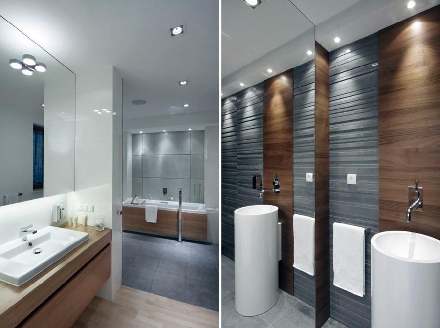 """Modna łazienka - trendy """"na fali"""" - Architektura, wnętrza, technologia, design - HomeSquare"""