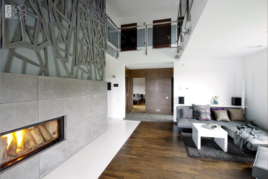 Jak zaaranżować salon kominek pomysły na wnętrze
