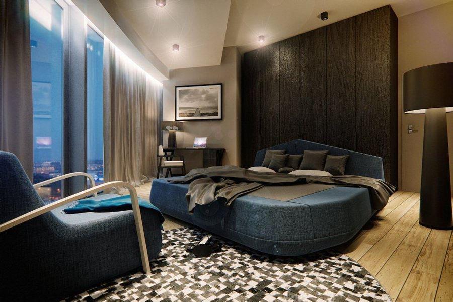 Modna sypialnia w nowoczesnym stylu galeria wnętrz
