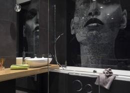Oryginalna grafika w łazience