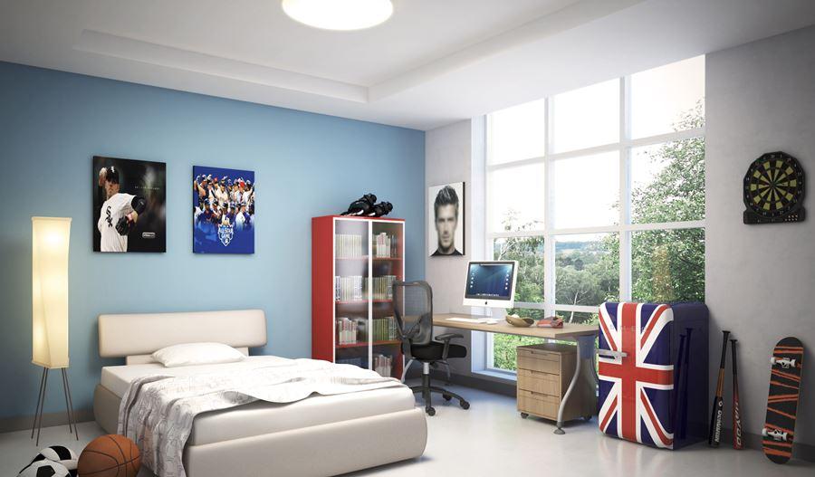 Oryginalne pokoje dla nastolatków SMEG
