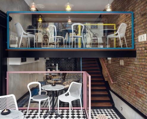 Projekt restauracji Mocno Nadziane Sikora Wnętrza