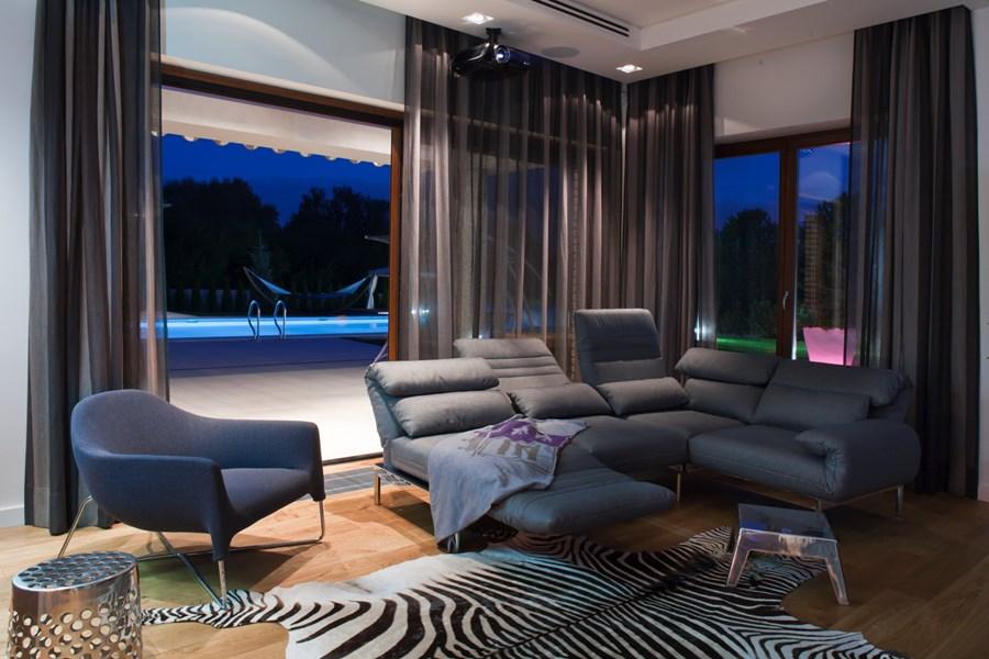 Przytulny salon styl nowoczesny inspiracje i pomysły