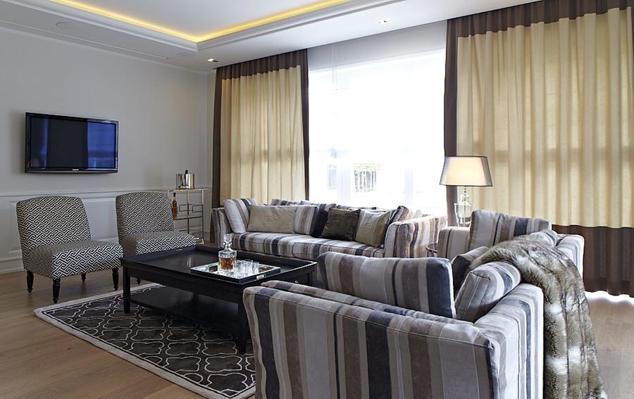 Przytulny salon w ciepłych kolorach pomysły i inspiracje