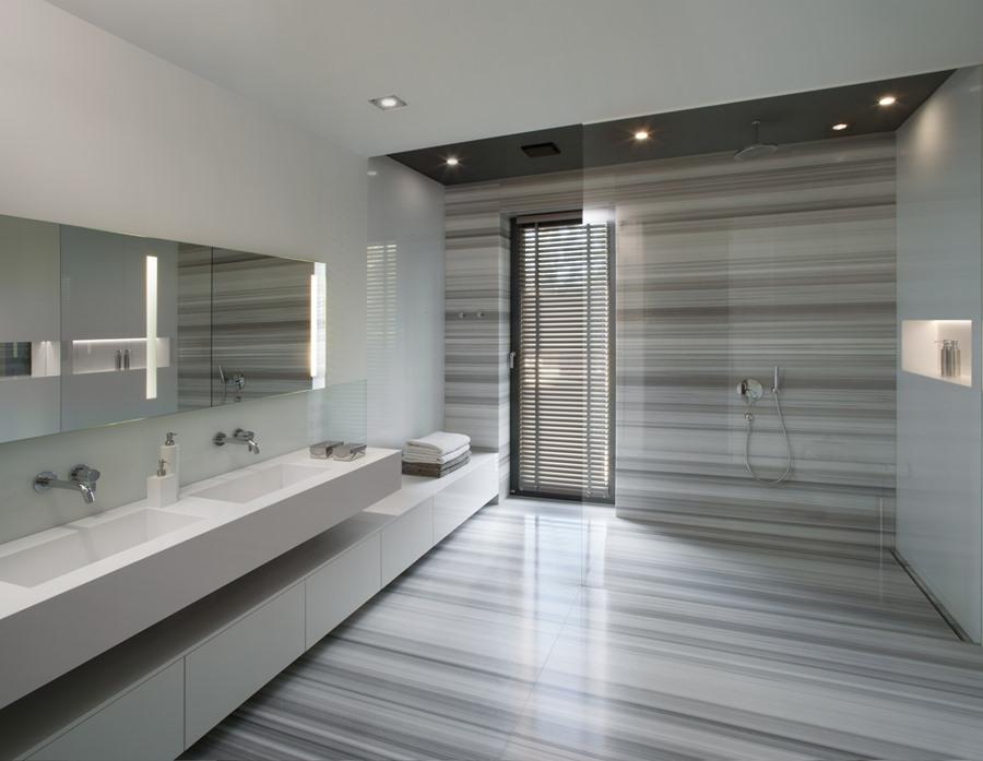 Stylowa łazienka, czyli minimalizm oswojony - Architektura, wnętrza, technologia, design ...