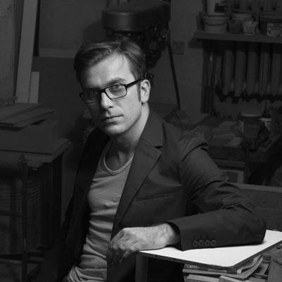 Designer Tomek Rygalik